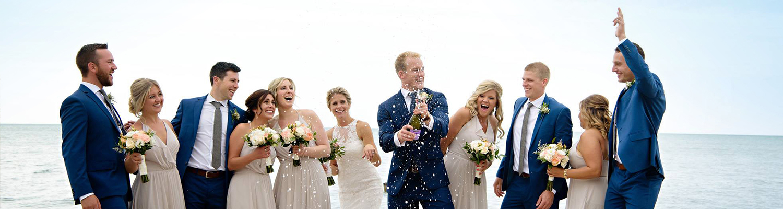 Wedding Lake Huron Grand Bend Oakwood Resort