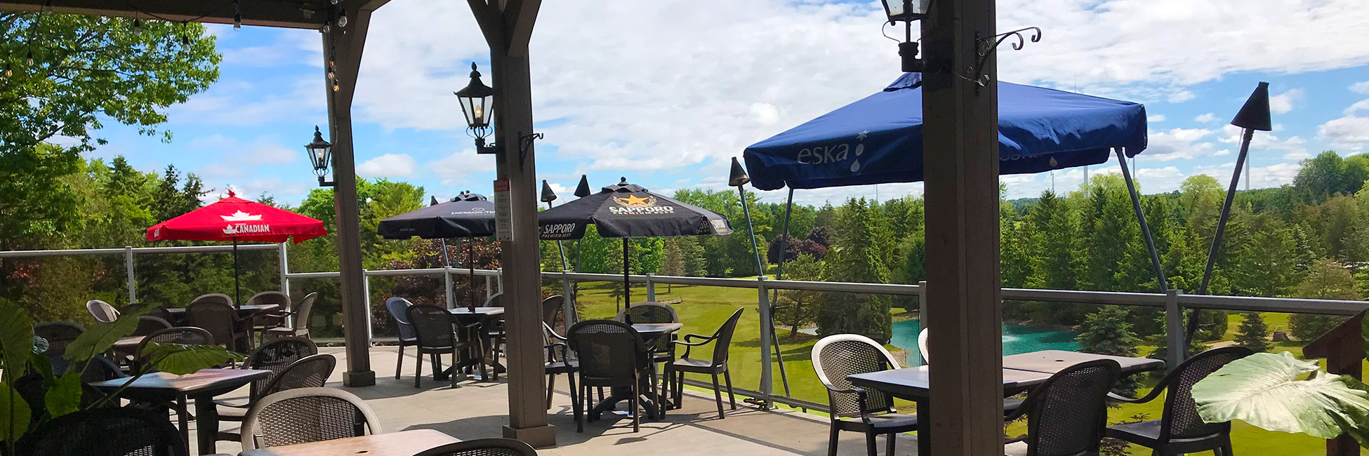 Patio Grand Bend Restaurant Daves Pub & Grill