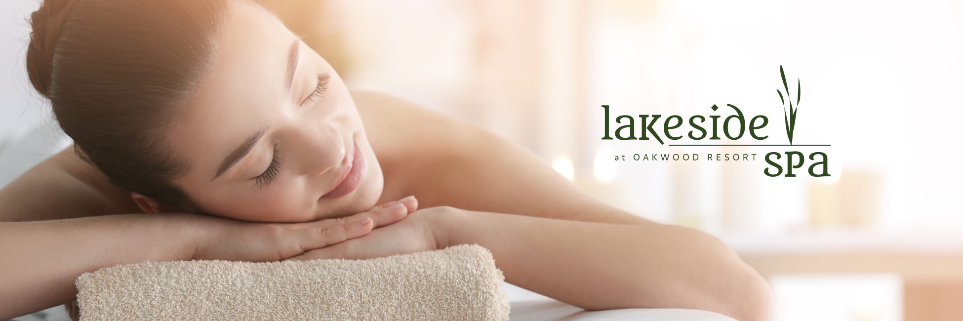 Lakeside Spa Header