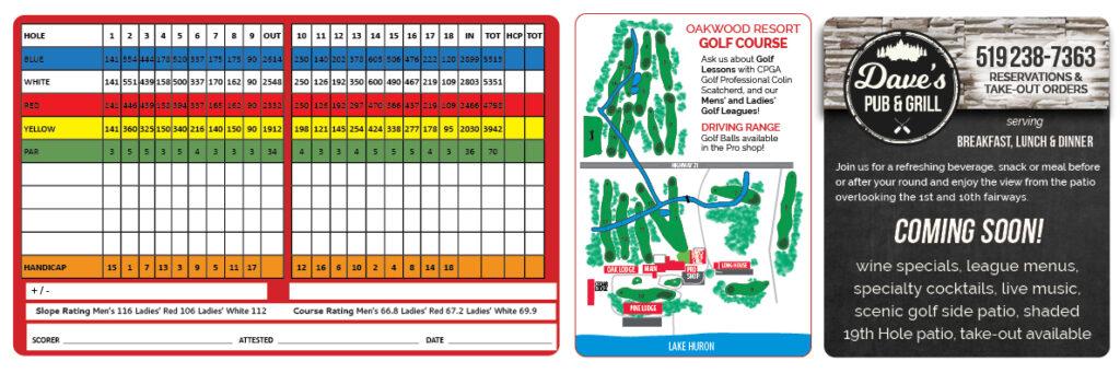 Grand Bend Golf Course Oakwood Resort